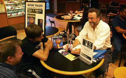Robert Balmanno's first meet-and-greet event was held at the Sunnyvale Borders bookstore in September of 2006.